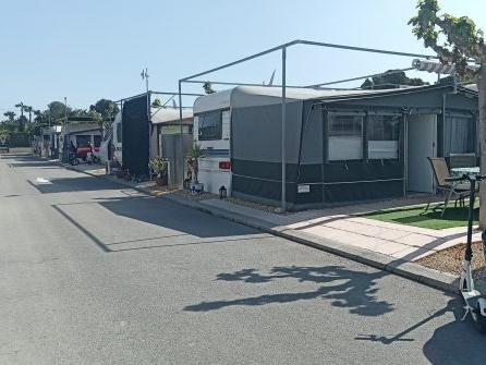 Spacious Hobby Caravan For Sale on Camping Villamar, Benidorm